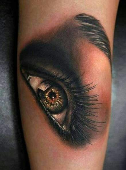 Tattoo Auge Eye Real Picture