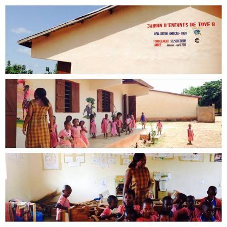 construction école maternelle- projet humanitaire afrique