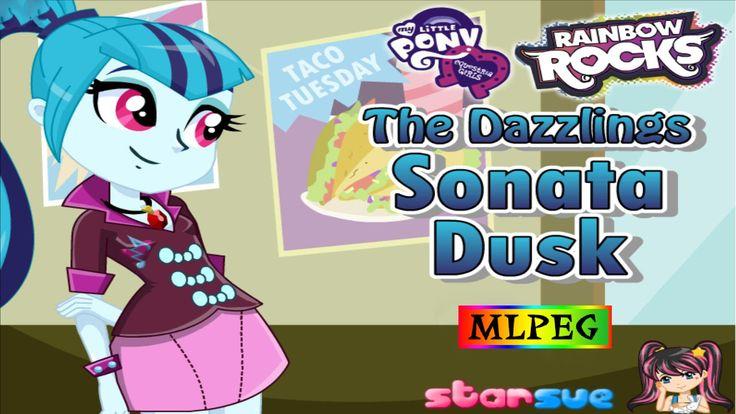 My Little Pony - Rainbow Rocks - The Dazzlings Sonata Dusk - Dress Up Game