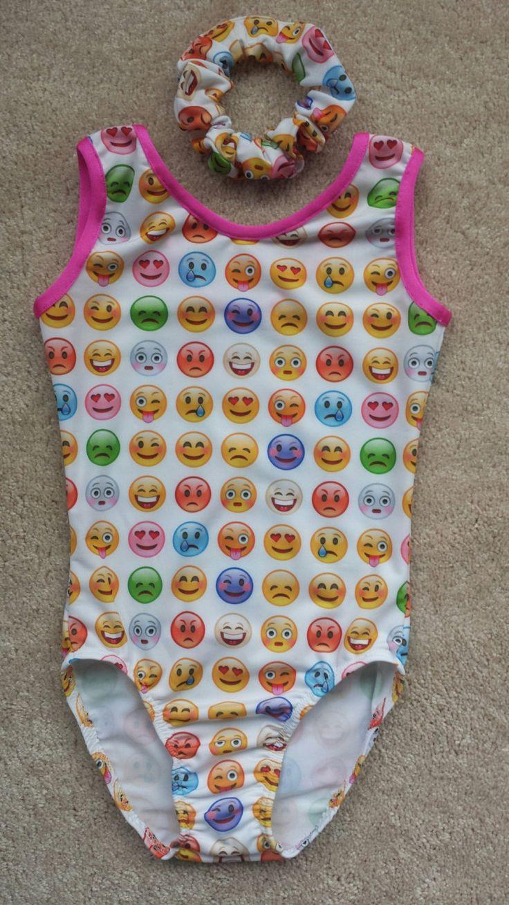 Emoji Leotard by JustGymnastics on Etsy More