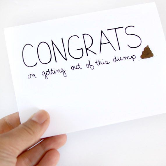 Goodbye Card. Congratulations On The New Job Card. Coworker Card. Congrats On...