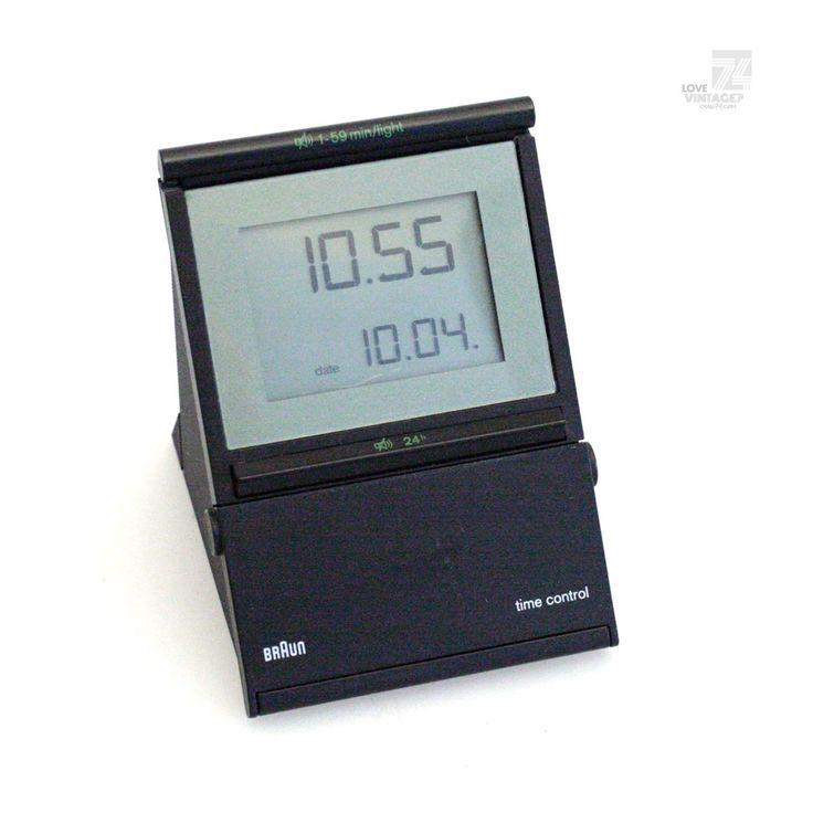 BRAUN Funkwecker Time Control Type 3877 DB10fsl Datum Wecker Funkuhr Alarm Uhr | eBay