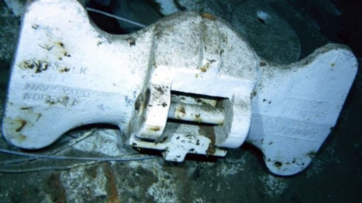 Long lost USS Indianapolis wreckage discovered by Paul Allen crew
