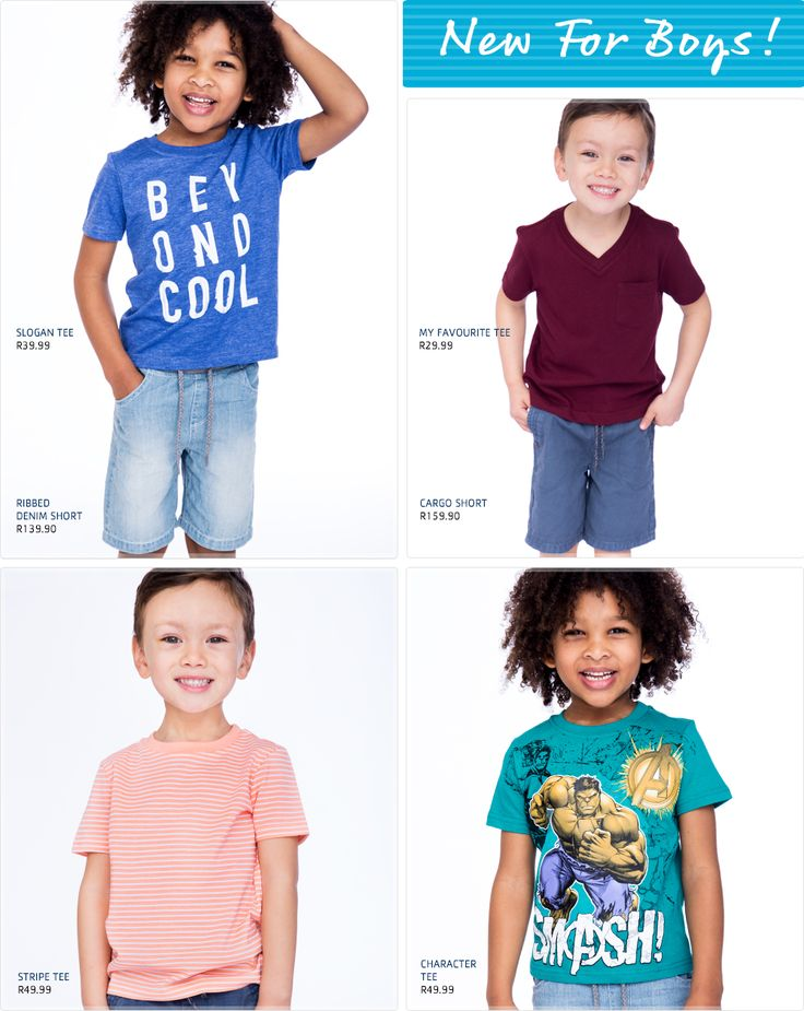 New for Boys!