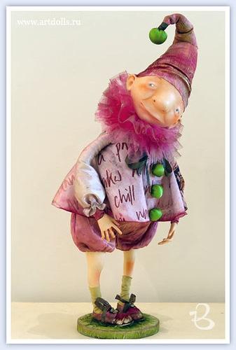 SIMONA — «Егупец Ольга. Авторская кукла Клоун.jpg» на Яндекс.Фотках