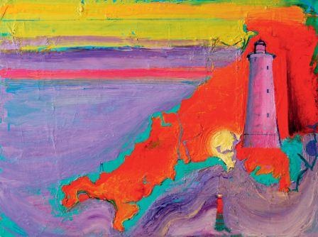 In Conversation with Artist Ashley Hanson - vibrant coastal paintings