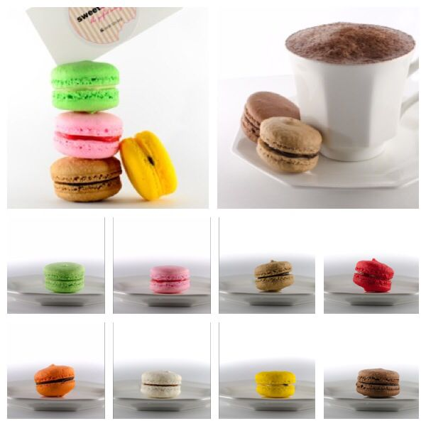 French macs are delicious. More importantly, they come in an array of  insane flavours.....it's not for everyone but for the rest of us who do, we find love in either lemon, salted caramel, mocha, blueberry, strawberry, hazelnut, chocolate, jaffa...the list goes on and on and on.