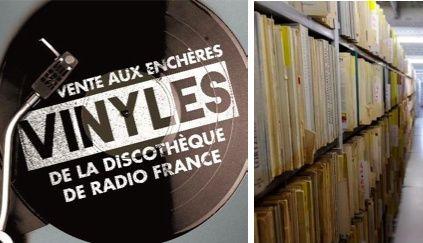 don't miss Évènement : Vente aux enchères de vinyles de la discothèque de Radio France en 2017