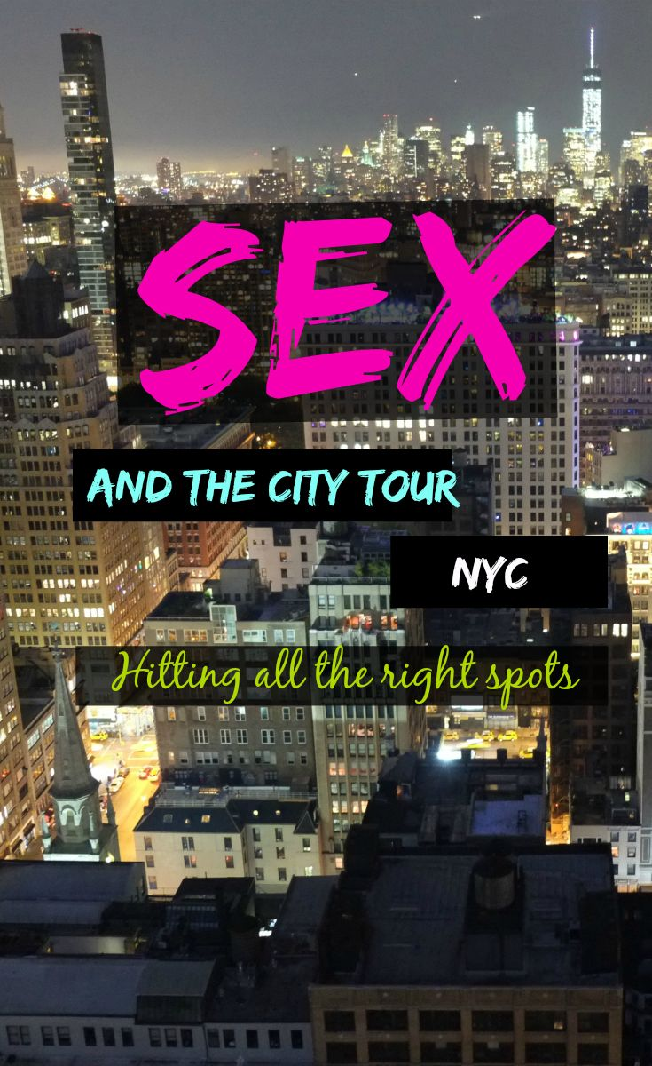 sex & the city tour