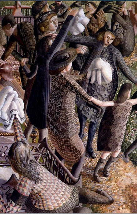 The Resurrection, Reunion 2 1945 Stanley Spencer