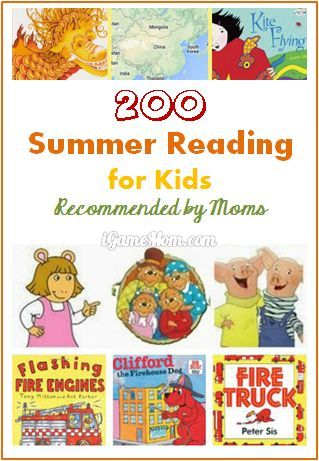 200 Books for Kids Summer Reading Recommended by Moms | iGameMom