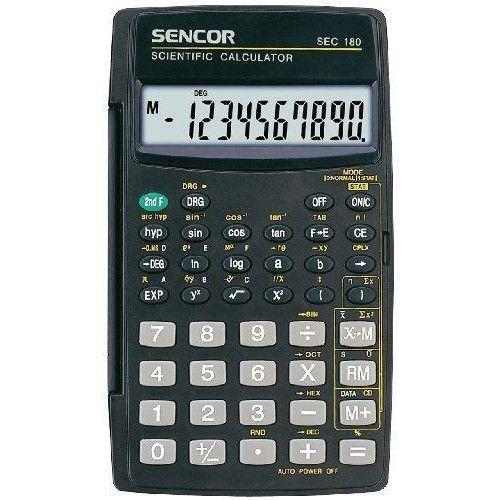 Tudományos számológép iskolába 8+2 karakteres Sencor SEC 180 Ft Ár 1,690