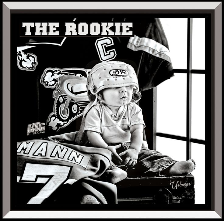 The Rookie <3 Hockey Spirit fundraising calendar - for hockey teams who need to raise funds! www.HockeySpirit.com