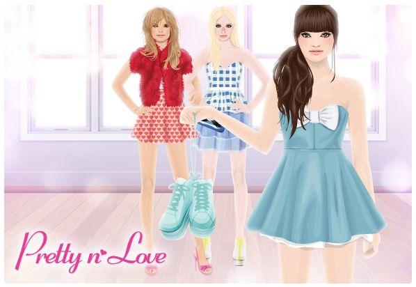 Everything Stardoll: Starplaza Store - New Pretty n♥ Love Collection