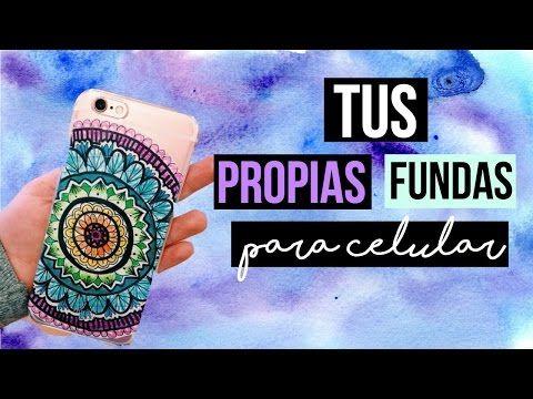 DIY: ¡HAZ TUS PROPIAS FUNDAS PARA EL CELULAR CON 2 INGREDIENTES! - YouTube