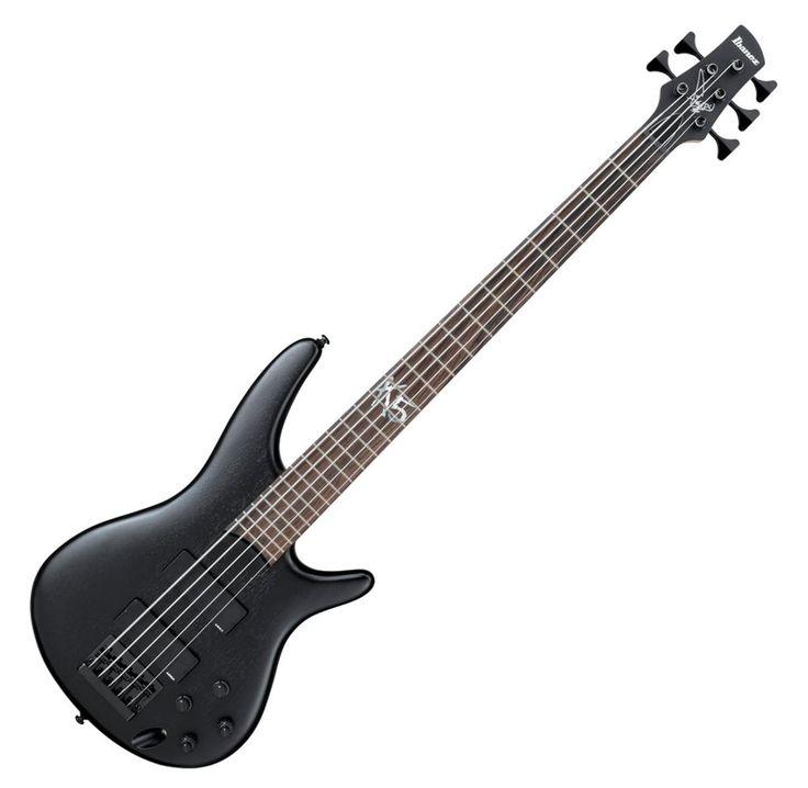 Sami's bass: Ibanez K5  #distressofruin #bass #bassist #ibanez #K5 #5string #metal #music