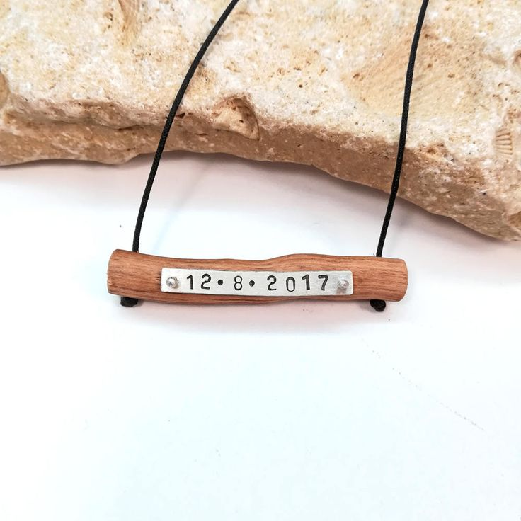 #etsy #jewelry #necklace #brown #wood #girls #yes #boys #lettterswords #valentinesday #anniversary