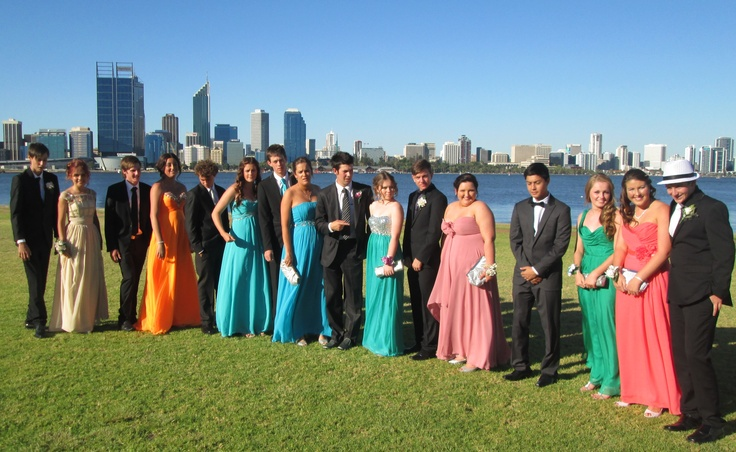 South Perth is a popular location for school ball photos