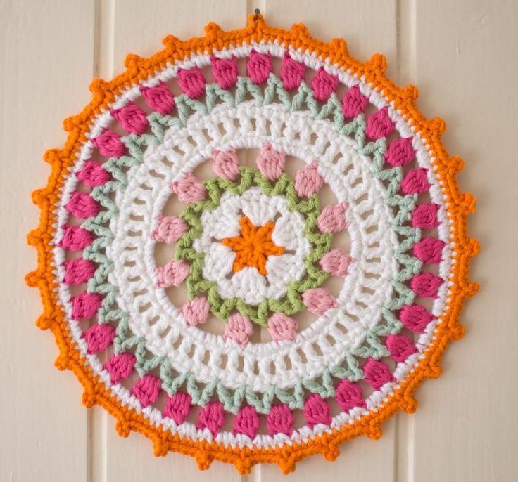 I Love Holland ~ mandala pattern