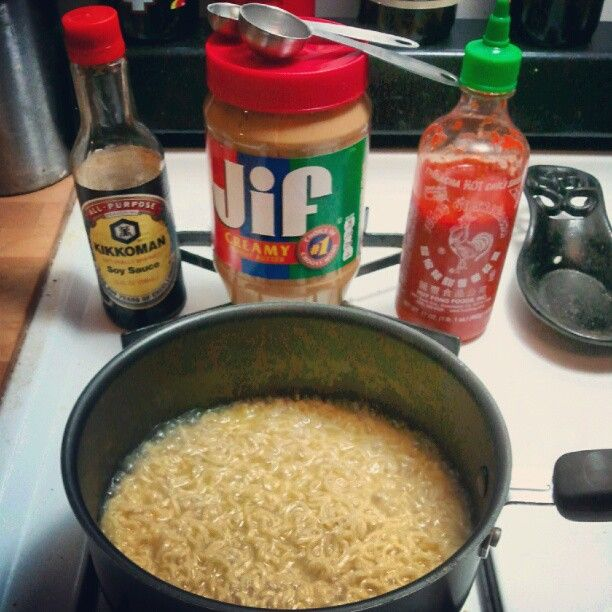 Peanut Butter Sriracha Ramen Noodles Recipes