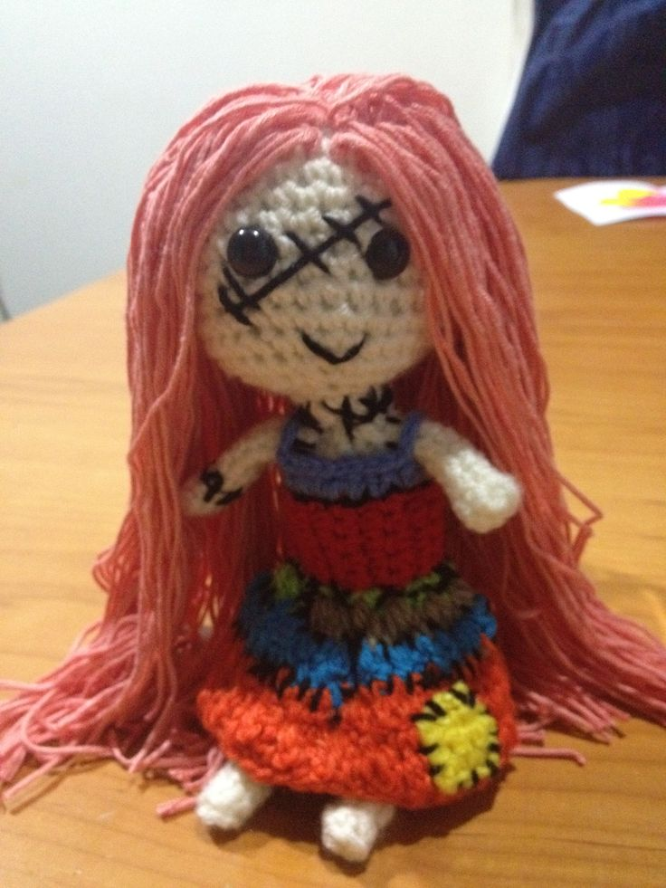 monster high inspired crochet doll halloween zombie crafts decoration