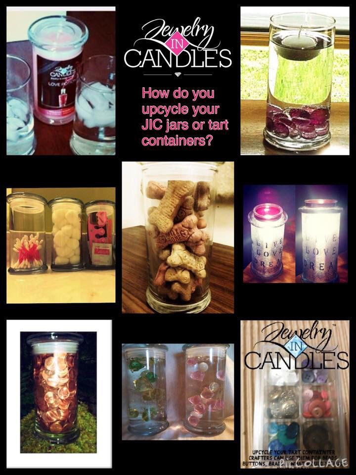 More ways to upcycle your empty Jewelry In Candles jars. Visit www.jewelryincandles.com/store/barbara-jic