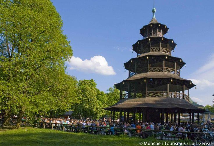10 Gründe München: Englischer Garten, Chinesischer Turm