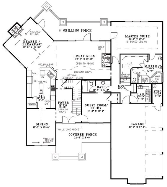 home floor plans with keeping rooms. Home plans with keeping rooms  design and style