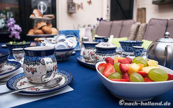 Himmlisches Frühstück im B&B Piekoo Belloo in Weert / Limburg