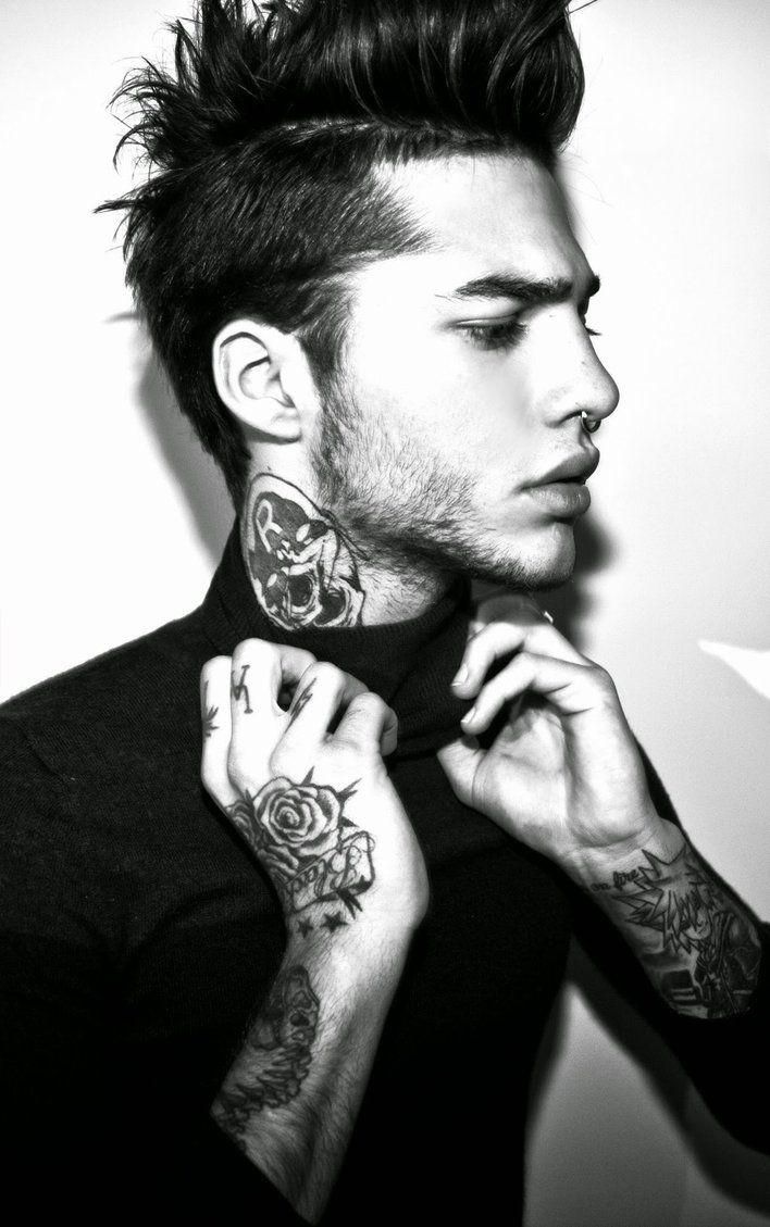 Brighton beach insane face tattoos - Check Out These Trendy Hairstyles On Guys With Amazing Tattoos 25 Of The Best Men S Haircuts And Tattoo Combinations