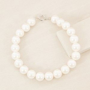 Audrey 20mm Faux Pearl 45cm Necklace