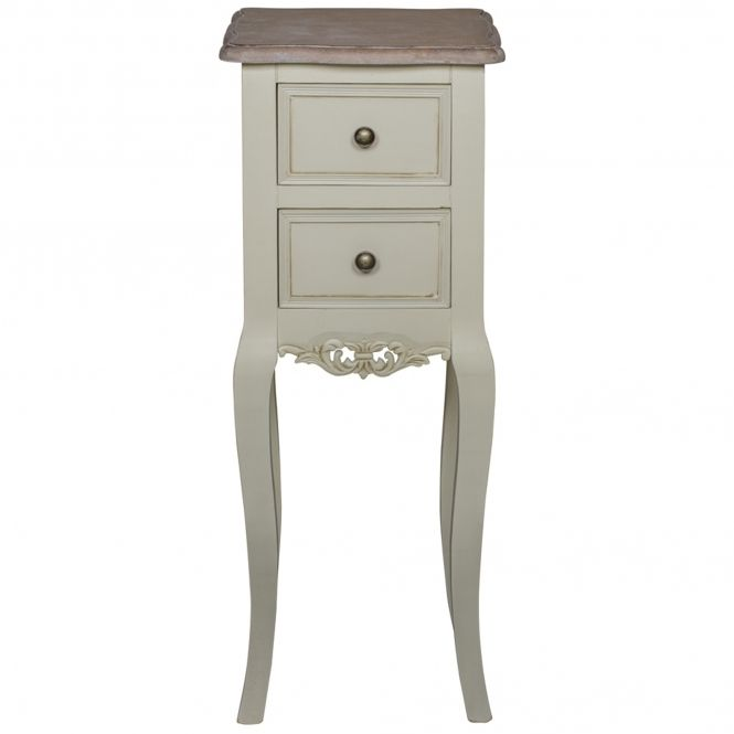 Antique French Style Chateau Bedside Table Shabby Chic Interiors