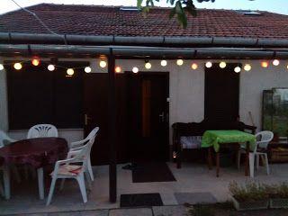 Kerti hangulat este/Garden atmosphere in the evening