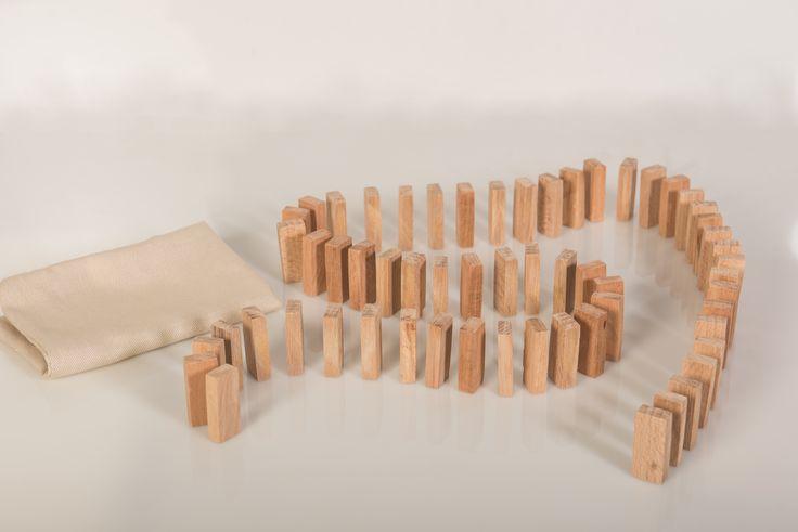 Domino Building Blocks - 60 Pieces