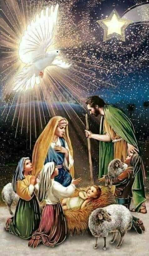 Espíritu Santo llena de bendiciones a todos los niños