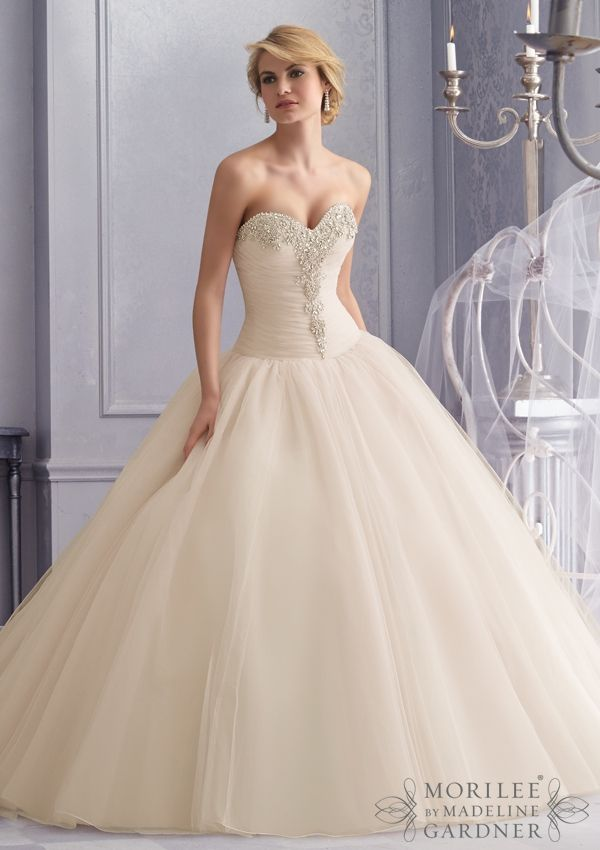 196 best Morilee Wedding Gowns images on Pinterest | Wedding frocks ...