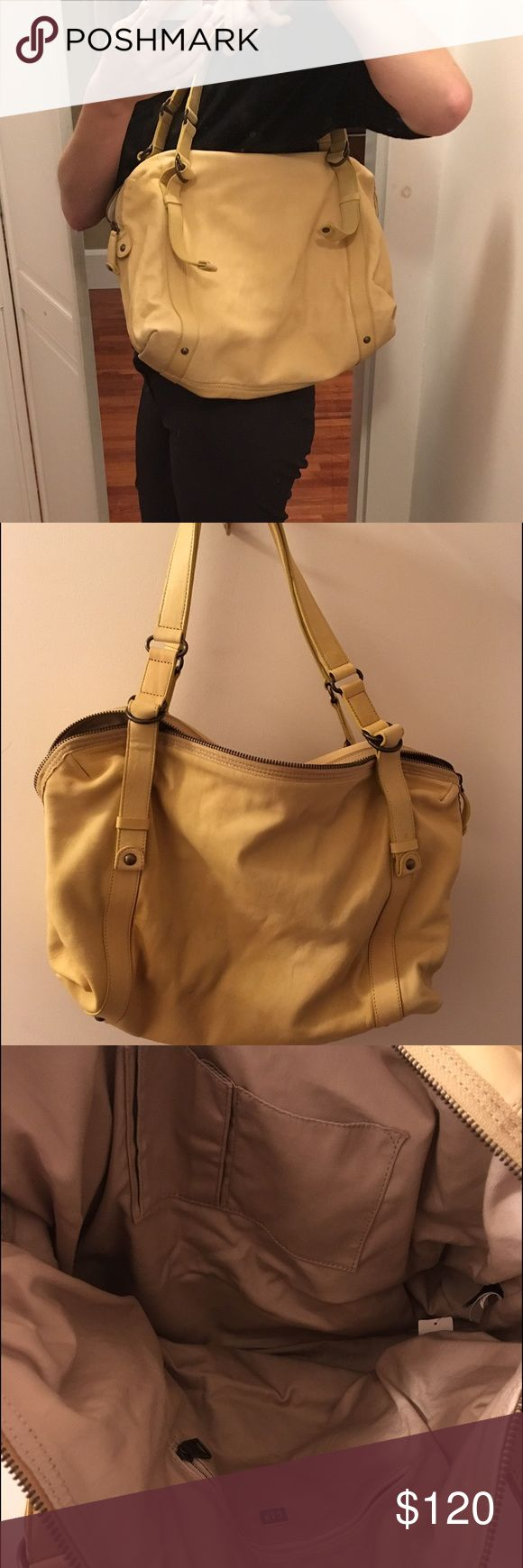 NWT Gap handbag New with tags Gap mustard yellow colored handbag. Never used. GAP Bags