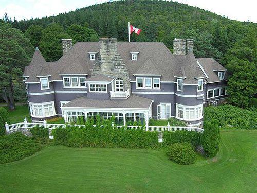 Alexander Graham Bell's summer home, Cape Breton Island, Nova Scotia, Canada by kapercarl, via Flickr