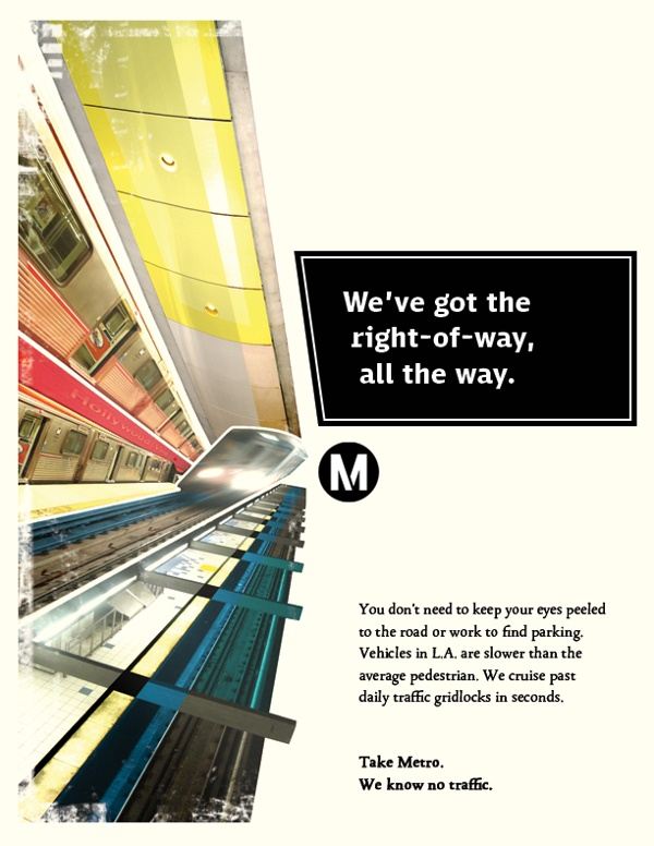 LA Metro by Sasha Welland (AD) & Solomon Sloan (Copy)