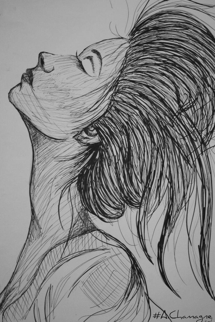 Passion of Drawing  Dessin de femme