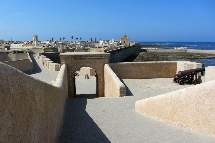 L'ancienne cité portugaise de Mazagan, aujourd'hui au coeur de la ville d'El Jadida, sur la côte atlantique marocaine...