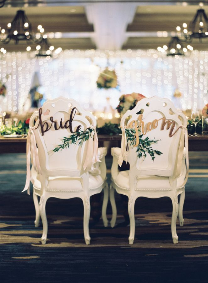Sweetheart chairs for the Mr. + Mrs. http://www.stylemepretty.com/little-black-book-blog/2016/07/29/southern-charm-meets-rustic-glamour-in-the-colorado-rockies/ | Photography: Clary Pfeiffer Photography - http://claryphoto.com/