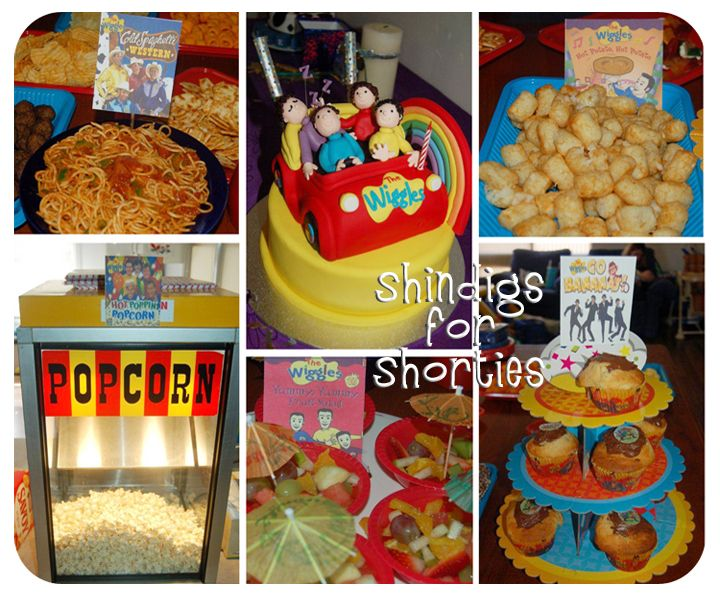 The Wiggles BD Party Ideas