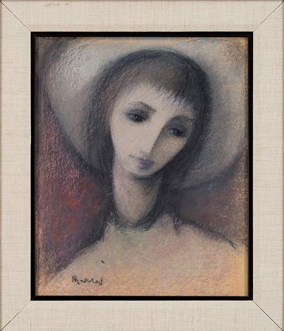 GIRL WITH A HAT by Elvi Maarni
