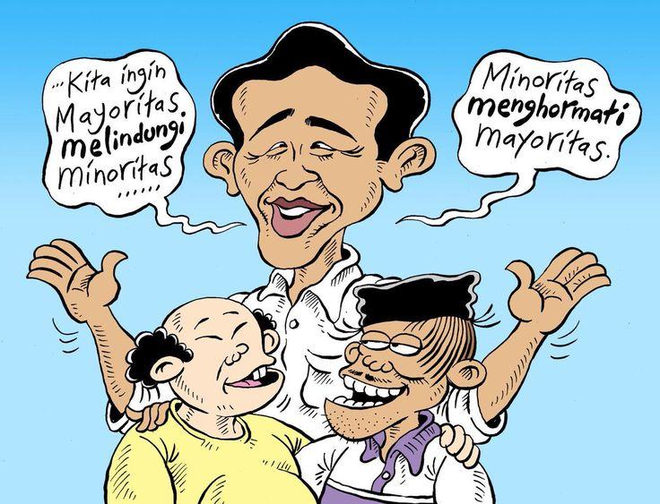 Mice Cartoon: Mayoritas & Minoritas