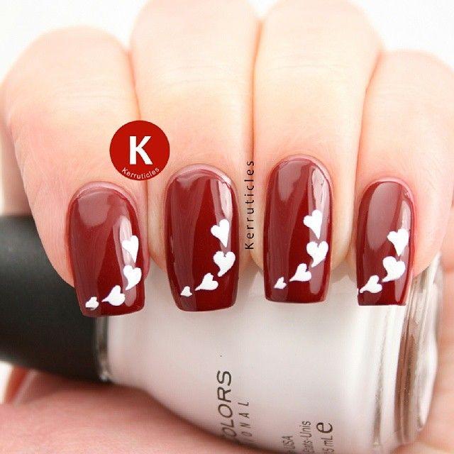 valentine by kerruticles #nail #nails #nailart