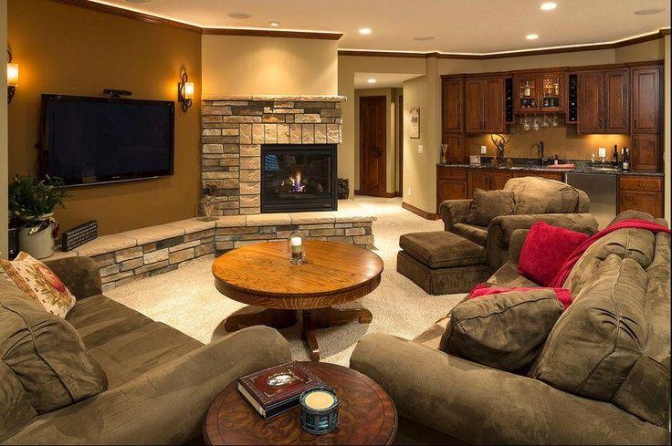 17 best images about basement design ideas on pinterest media room design custom home - Pinterest basement ideas ...