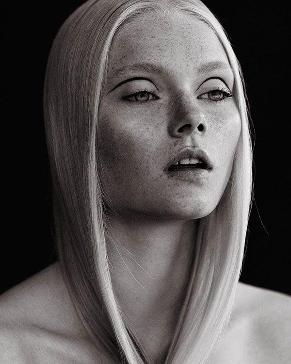 UGLY Magazine, 2014 Henrik Adamsen @henrikadamsen via @ugly_mag for #composition #motion #makeup