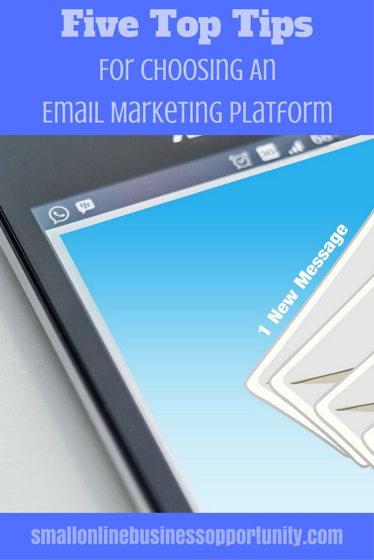 Email is a great way to market your business but do you know how to choose the best email marketing platform for your needs? Here are some really awesome tips for choosing an email marketing platform.  #EmailMarketing #BuildAList #ManageSubscribers