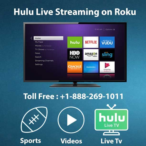 Hulu officially launched its live TV streaming services over 50 plus cable channels, live and on demand programs. This service available on Roku, Google Chromecast and amazon fire stick. To know more about Hulu live streaming https://www.go-roku.com/subscribe-hulu-for-live-streaming-on-roku/  If you having Roku and want to subscribe Hulu, call our toll free number +1-888-269-1011 and get best assistance to our support team.